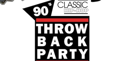 90's Classic Hip-Hop Throwback Party