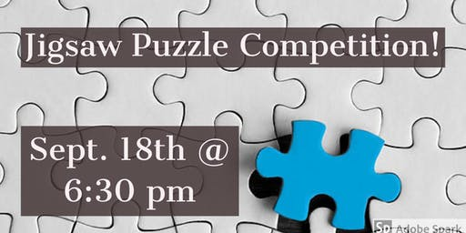 Jigsaw Puzzle Competition!