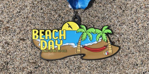 The Beach Day 1 Mile, 5K, 10K, 13.1, 26.2 -Mobile