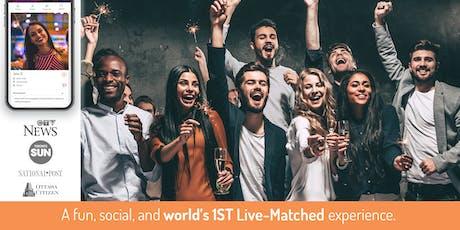 World's 1st Live-Matched Singles Games & Mingle | 25 - 42y | Secret RSVP tickets