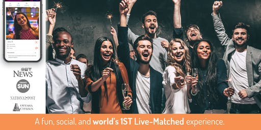 World's 1st Live-Matched Singles Games & Mingle | 25 - 42y | Secret RSVP