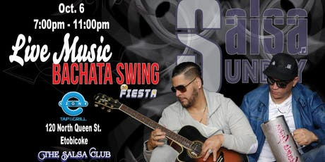 Latin Party! Live Music by Bachata Swing and DJ Fiesta tickets