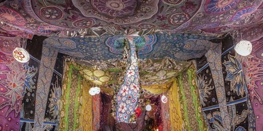 The Vibration of Color: A Sounbath Inside of Alchemy Tunnel