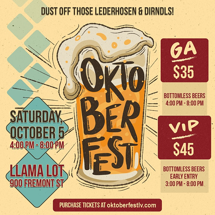 Oktoberfest - Beer Festival & Live Entertainment image