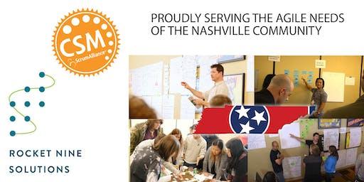Certified Scrum Master Training (CSM) Nashville, TN - Sept 2019
