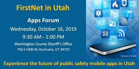 FirstNet in Utah Apps Forum tickets