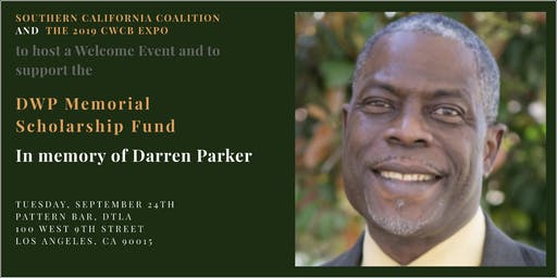 2019 CWCB Expo Welcoming Event & Fundraiser Honoring Darren Parker