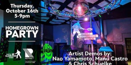 Homegrown Party | Demos: Nao Yamamoto Manu Castro Chris Schuelke tickets