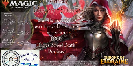 Magic: Throne of Eldraine PreRelease at Round Table Games tickets
