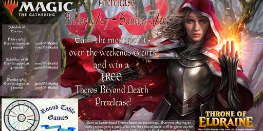 Magic: Throne of Eldraine PreRelease at Round Table Games