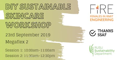 DIY Sustainable Skincare Workshop tickets