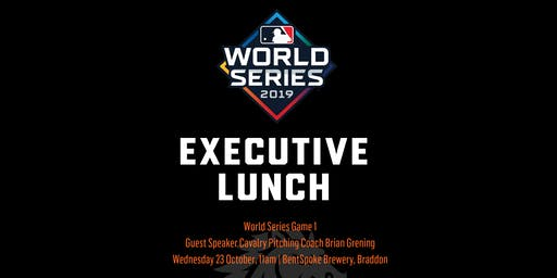 Major League Baseball World Series Executive Lunch