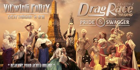 Drag Race Thailand - View Party tickets
