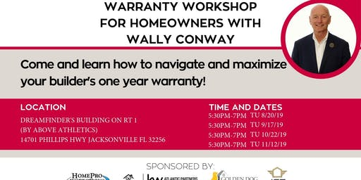 Warranty Workshop for Homeowners