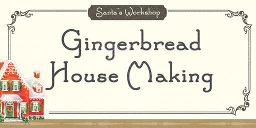 Santa's Workshop - Gingerbread Houses (2019)