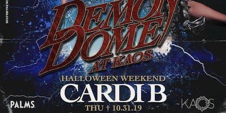 CARDI B @ KAOS NIGHTCLUB - LAS VEGAS HALLOWEEN PARTY OCTOBER 31ST tickets