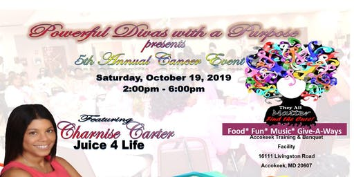 THEY ALL MATTER -5th ANNUAL CANCER EVENT