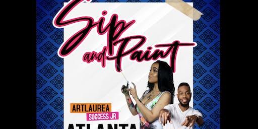 ARTLAUREA: Paint A Different Picture | sip n paint