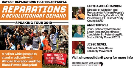 Reparations: A Revolutionary Demand!  - Gainesville tickets