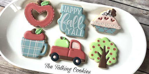 SOLD OUT! Happy Fall Y'all - Beginner Cookie Decorating Class