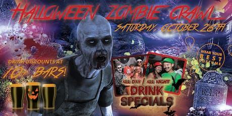 SCOTTSDALE ZOMBIE CRAWL - Halloween Pub Crawl Oct 26th tickets
