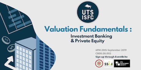 Valuation Fundamentals: Investment Banking & Private Equity tickets