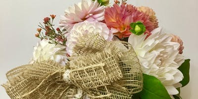 Floral Design & Crafting night with Ruffled Willow & Shirley Ann Designs