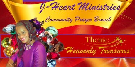 4th Annual J-Heart Ministries Community Prayer Brunch tickets