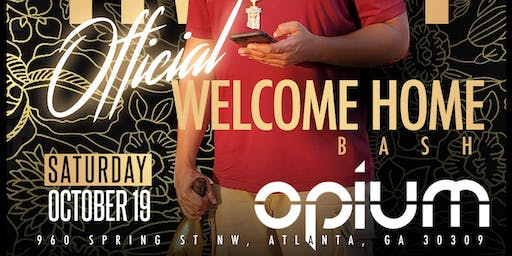 Trizzy Welcome Home Party Saturday October 19th @ Opium