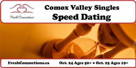 Comox Valley Singles Speed Dating (50+) tickets