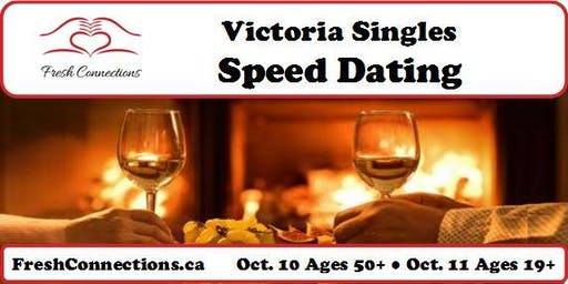Victoria Singles Speed Dating (50+)