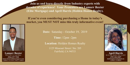 1st Time Homebuyer's Seminar
