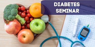 Diabetes: Free Seminar