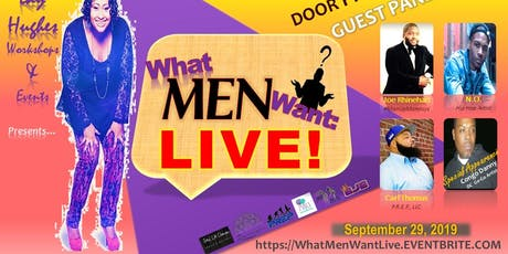 What Men Want: Live! tickets