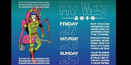 PRF West 2019 tickets