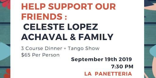 Dinner & Tango Show to Help Celeste
