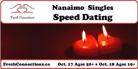 Nanaimo Singles Speed Dating (50+) tickets