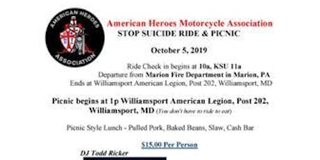 Stop Suicide Ride and Picnic tickets