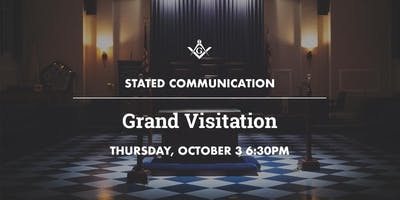 October Stated Communication: Grand Visitation