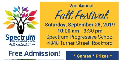 2nd Annual Spectrum School Fall Festival! tickets