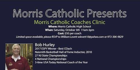 Morris Catholic Coaches Clinic  tickets