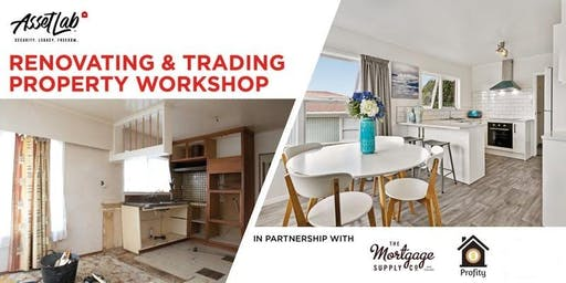 Trading Places: Property Trading & Renovating Workshop and LIVE In-Market Experience