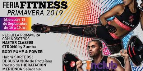 Feria Fitness Primavera 2019 entradas