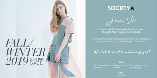 SocietyA Fall/Winter 2019 Showcase
