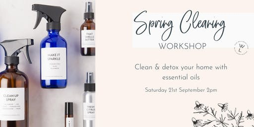 Natural Cleaning with Essential Oils