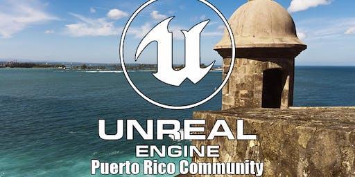 Segundo encuentro  Unreal Engine de Puerto Rico Community.