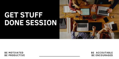 Get Stuff Done Session tickets