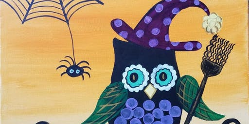 Let's Paint! Witchy Owl