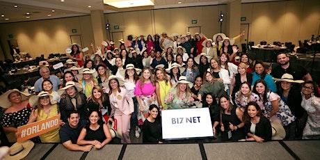 BIZNET LATINA: convención para emprendedoras y empresarias del mundo entero entradas