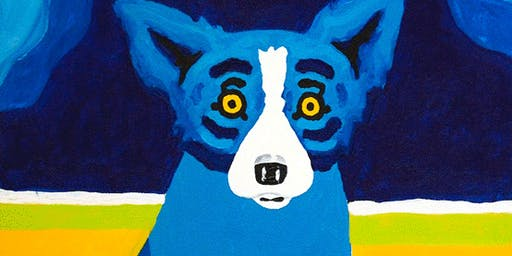 After School Art — Blue Dog